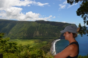 WAIPO VALLEY LOOKOUT, BIG ISLAND, HAWAII